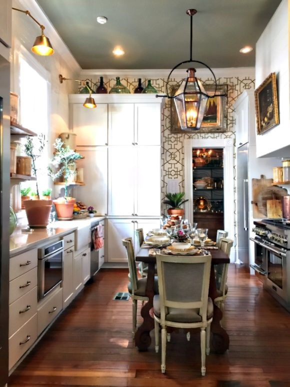 11 Stunning Designer Spaces From Southern Style Now The Ace Of Space Interior Design Kitchen Kitchen Style Shabby Chic Kitchen