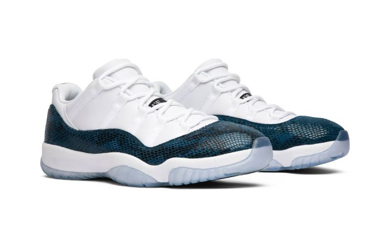 1d4d0bef866 (eBay Sponsored) Snakeskin Nike Air Jordan 11 Retro Low CD6846-102 Navy Blue