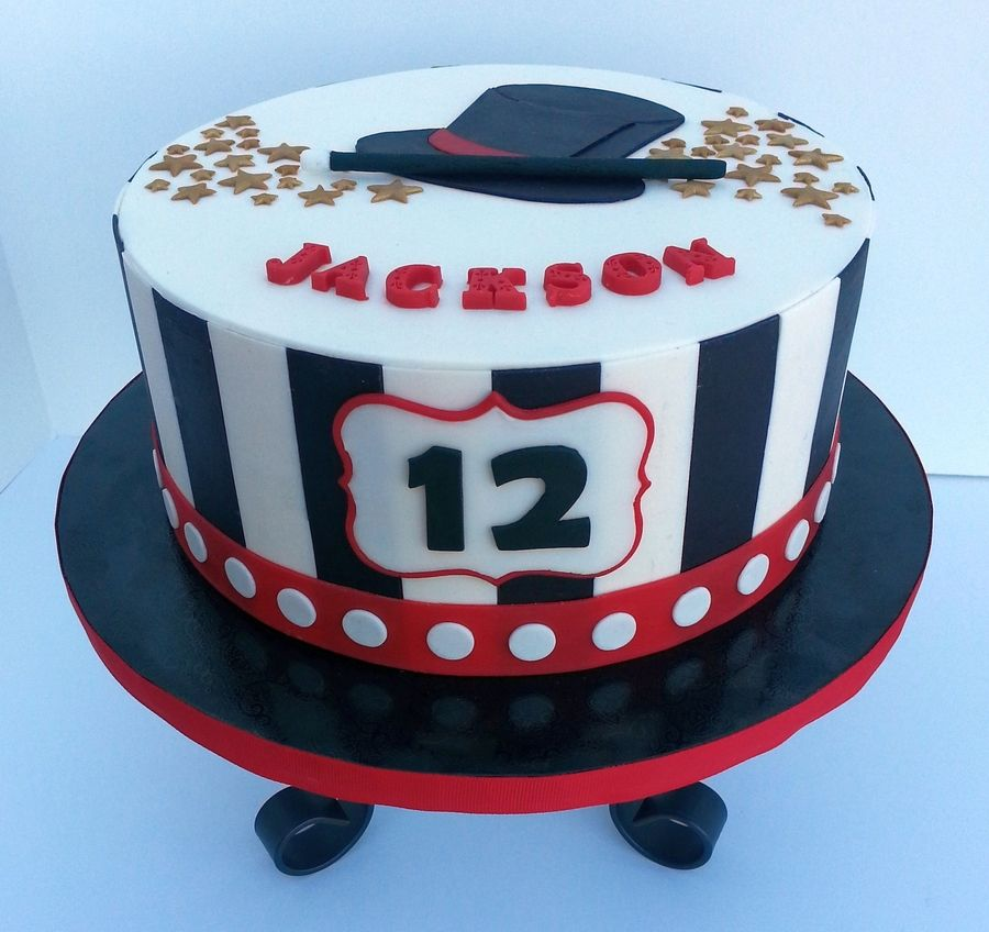 Birthday Cake For Magic Themed Party Design Inspired By The ...