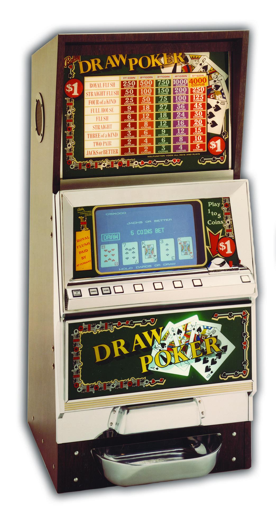 Video Poker Slot Machine Games