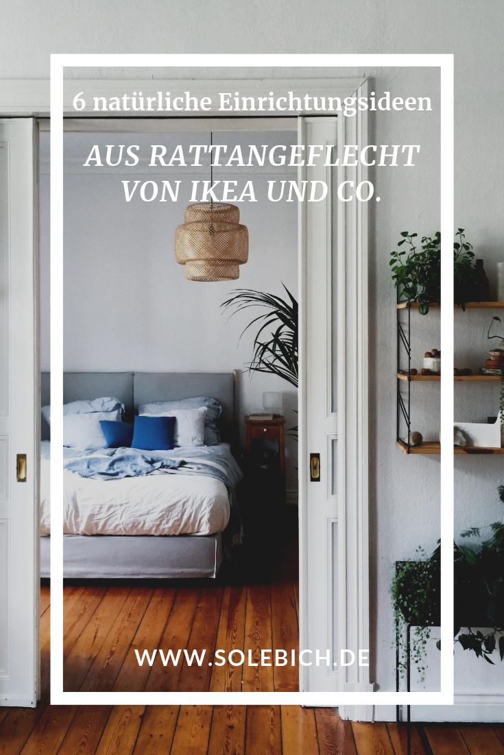 6 natürliche Einrichtungsideen aus Rattangeflecht von IKEA