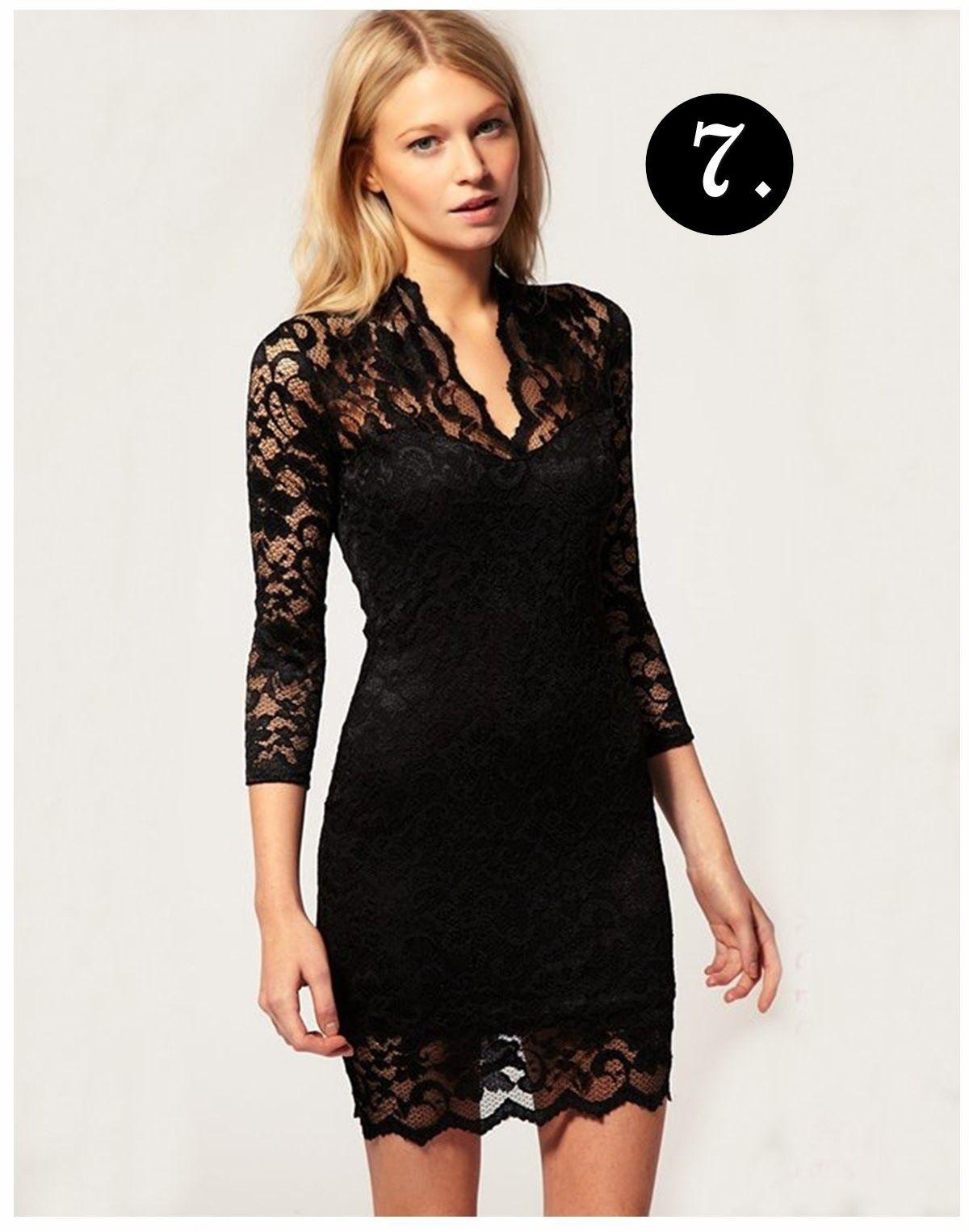 BLACK LACE  SUMMER DRESS | ... summer evening dress ruched dress 2014 Black Lace Evening Dress Models