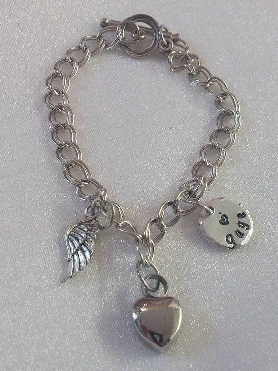 Urn Bracelet Charm For By Exquisitestampdesign