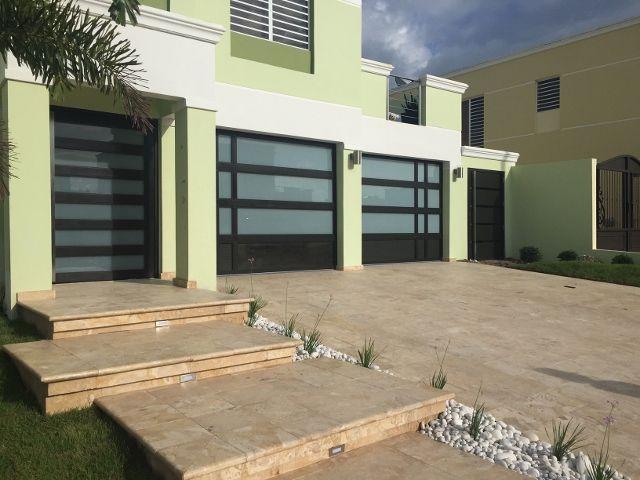 Puertas De Garaje En Aluminio Y Cristal Puerto Rico Puertas