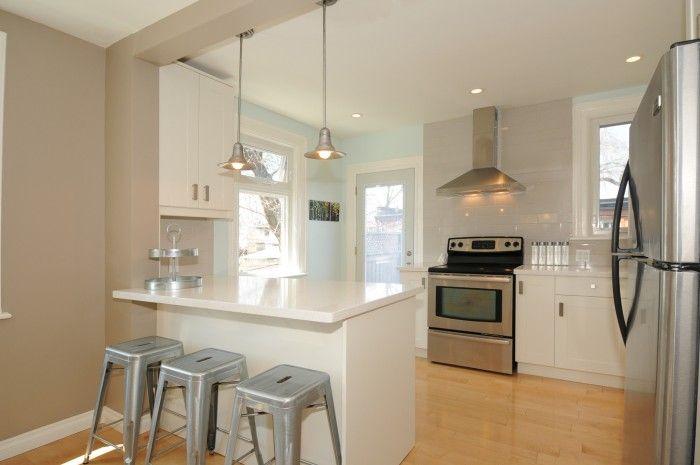 Lights Over Breakfast Bar Kitchen Design Breakfast Bar Kitchen