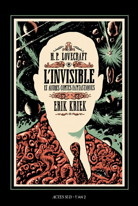Erik Kriek - L'Invisible et autres contes fantastiques