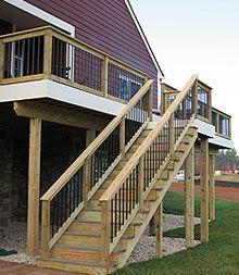 Stairway Design: November 2013 | deck railing | Pinterest ...