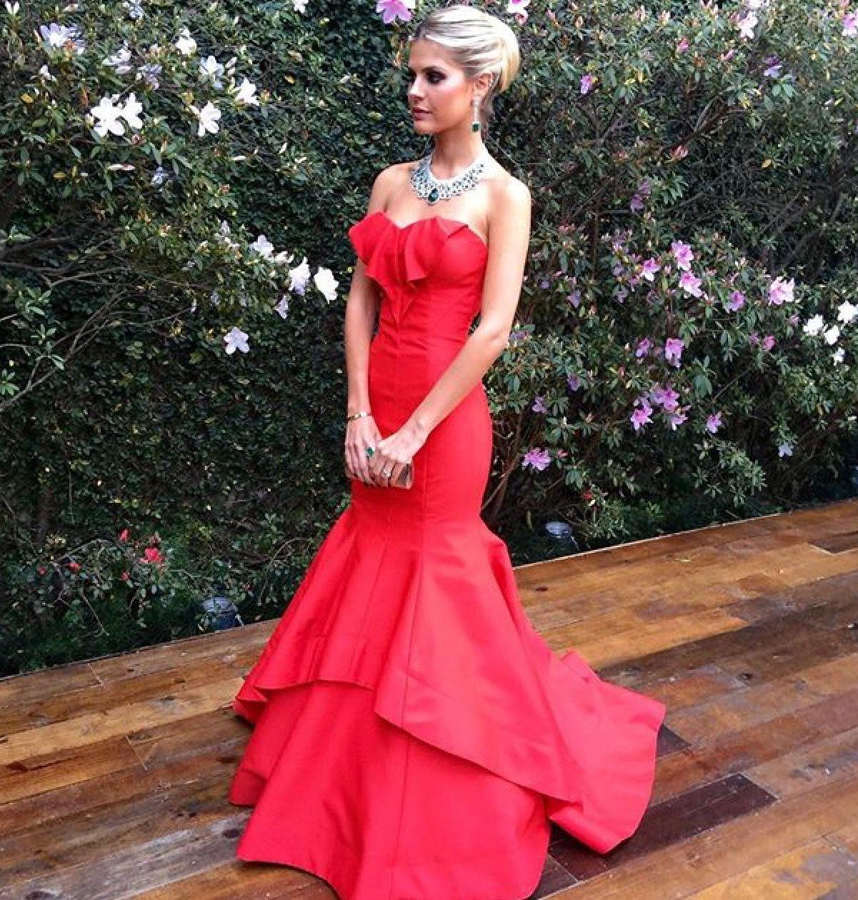 Lala Rudge vestido vermelho red | Looks | Pinterest