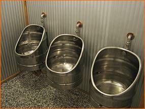 urinal keg shaped wohnen pinterest haus ideen und fass. Black Bedroom Furniture Sets. Home Design Ideas