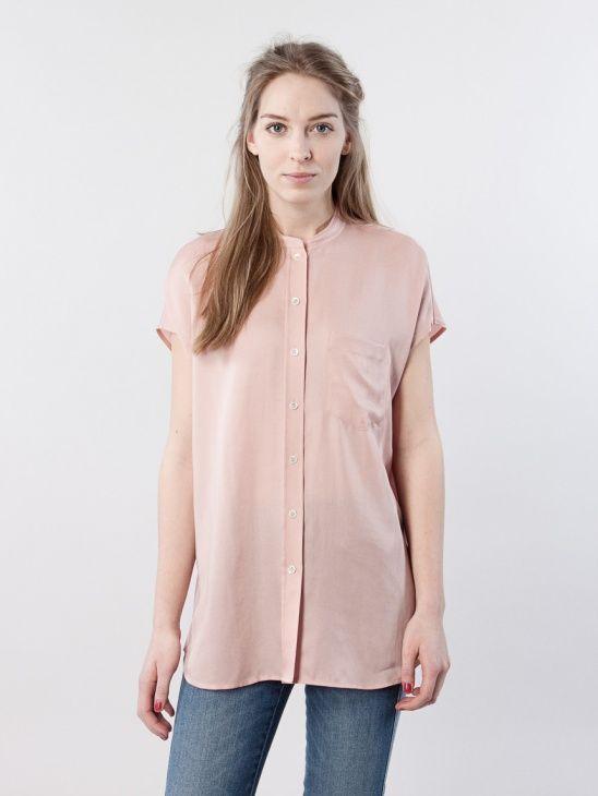 filippa k washed tencel blouse
