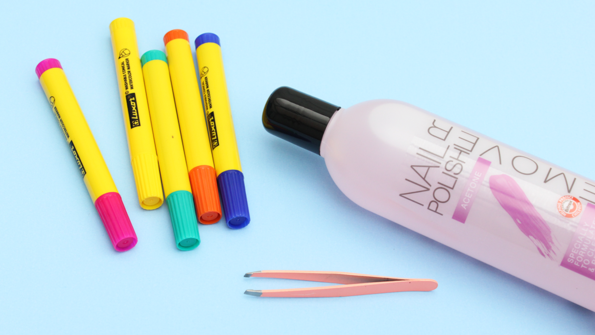 I Turned Markers Into Nail Polish Remover Pens Nail