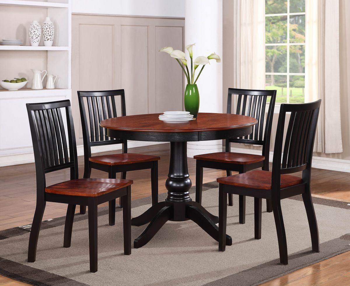 sunbury 5pc dining table with chairs | kirschen, stühle und lässig, Esstisch ideennn