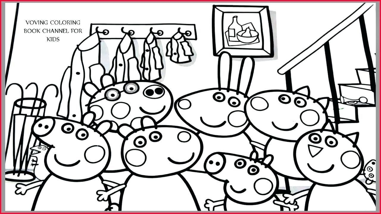 Coloring Pages Peppa Pig Luxury Peppa Pig Coloring Pages Games Safewaysheet In 2020 With Images