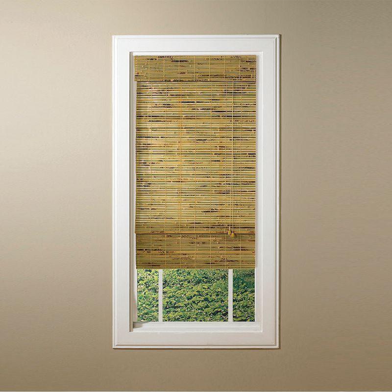 Kona Light Filtering Natural Bamboo Roman Shades 48 X 64