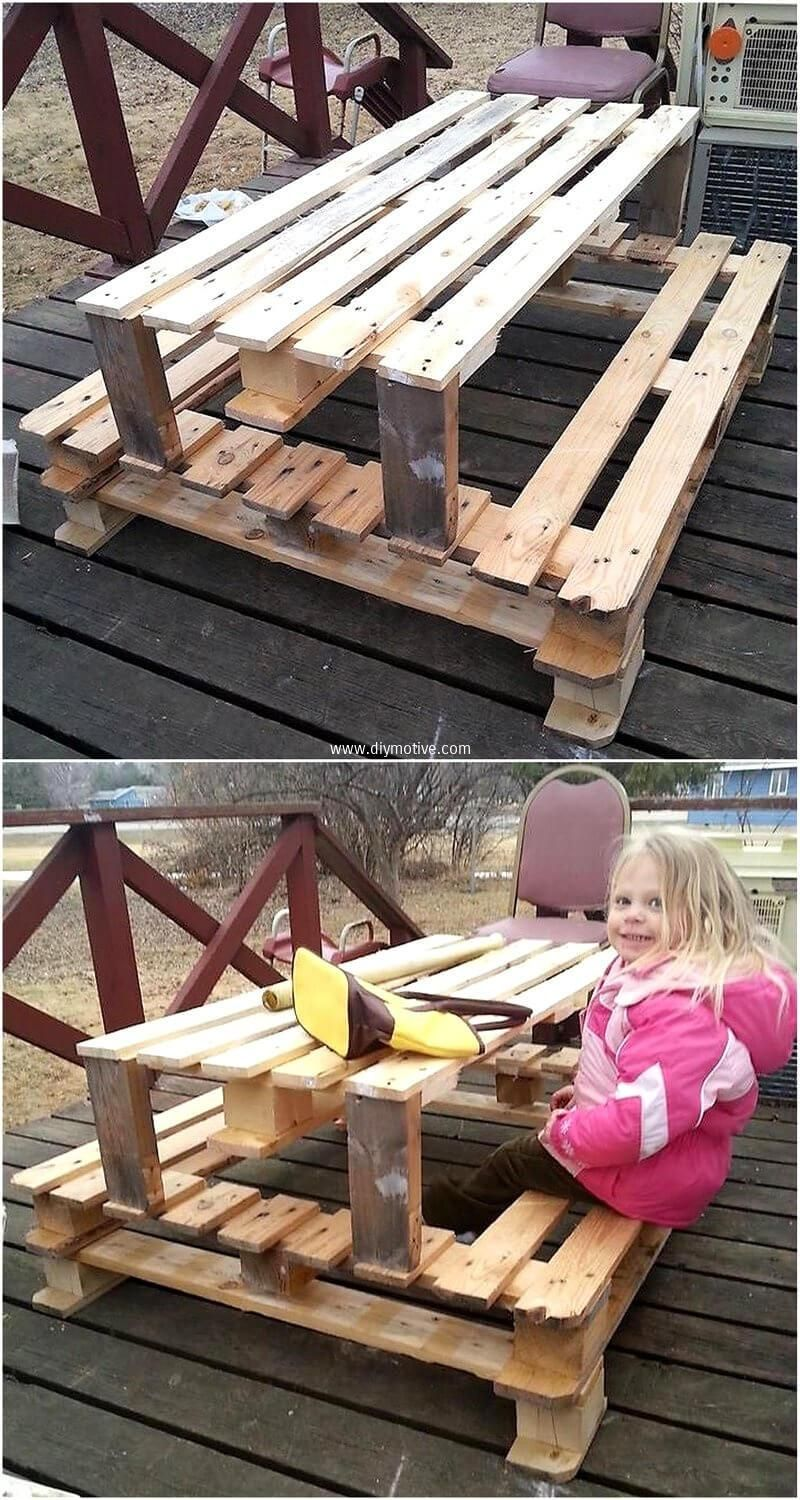 Reconverting Ideas For Used Wood Pallets | Muebles con ...