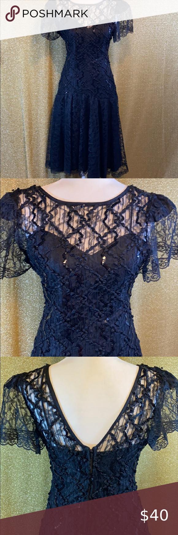 80s Vintage Black Lace Dress Vintage Black Lace Dress Lace Dress Vintage Black Lace Dress [ 1740 x 580 Pixel ]