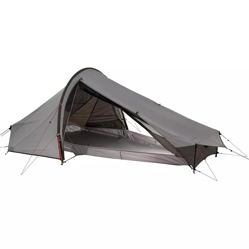 Tente De Trekking Quickhiker Ultralight 2 Personnes Gris Clair Tente Randonnee Camping En Tente Tente De Survie