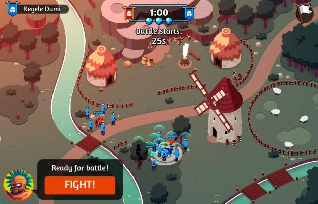 BattlePlans is a Free 2 Play Android, Real-Time Strategy Multiplayer Game  (RTS
