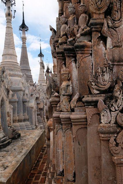 Kakku Pagodas, Taunggyi, Myanmar