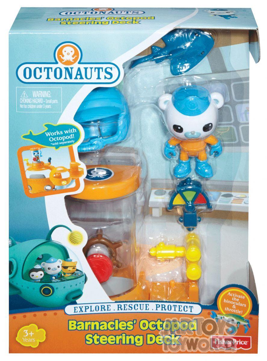 Octonauts Barnacles Octopod Steering Deck Mr Toys