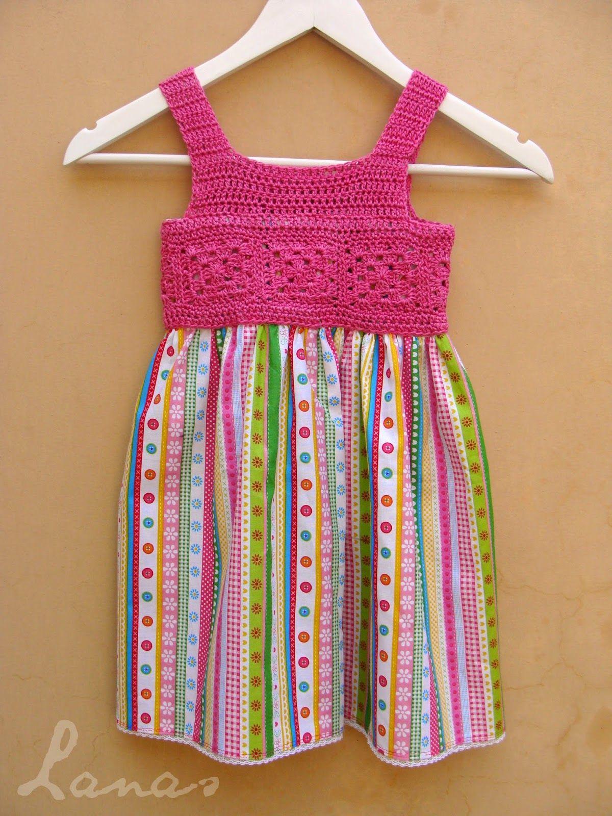 Free Crochet Pattern For Bodice Of Toddler Dress Crafts Crochet