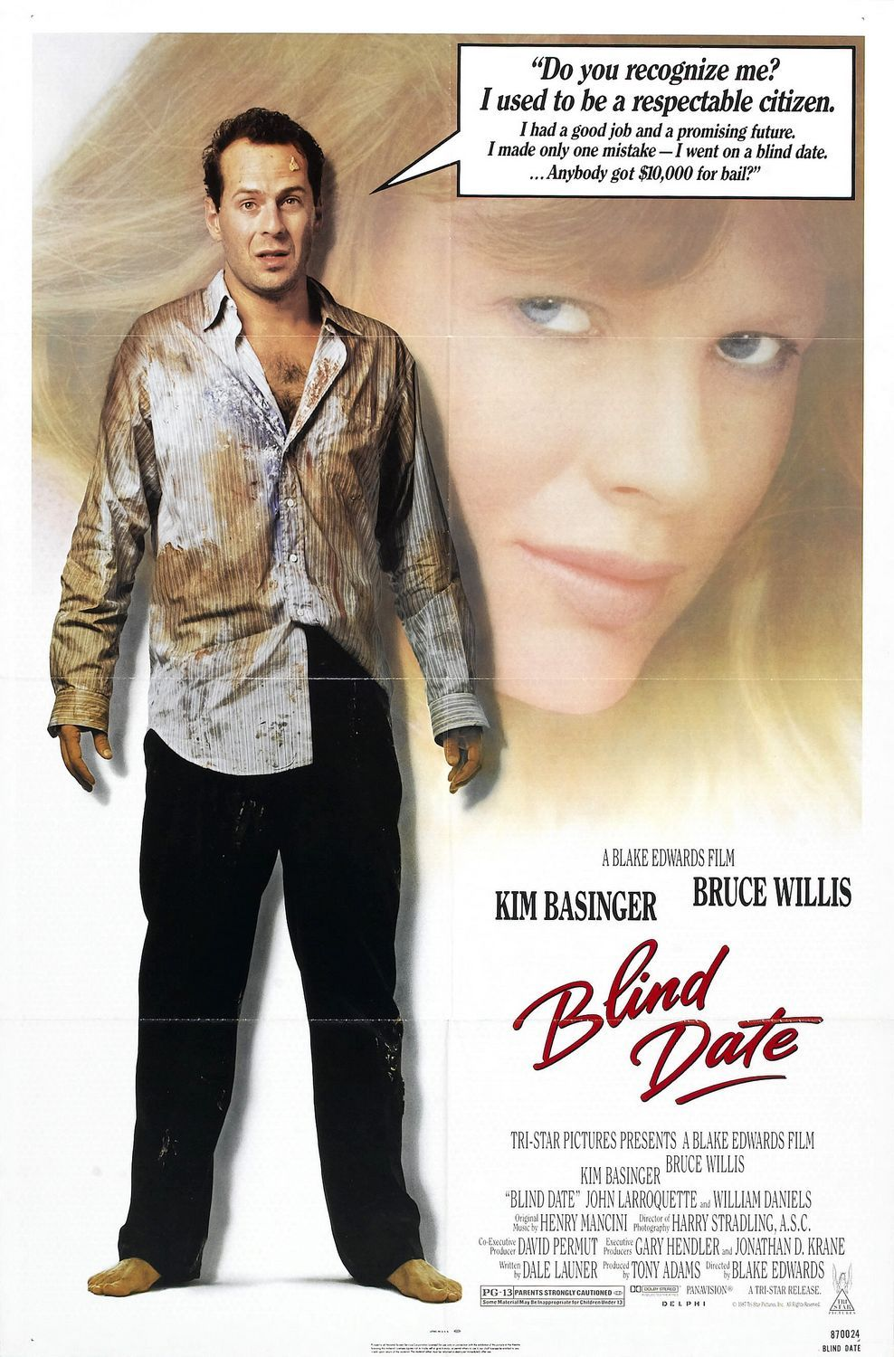 Blind Date 1987 Comedy Movies Kim Basinger Blind Date Film