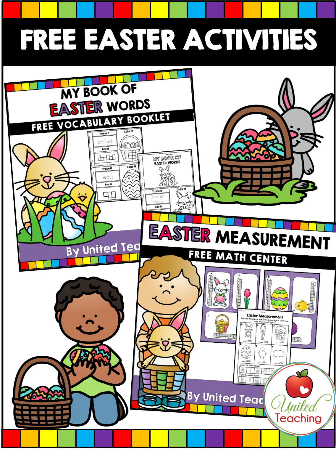 Grab These Free Easter Math And Literacy Activities For