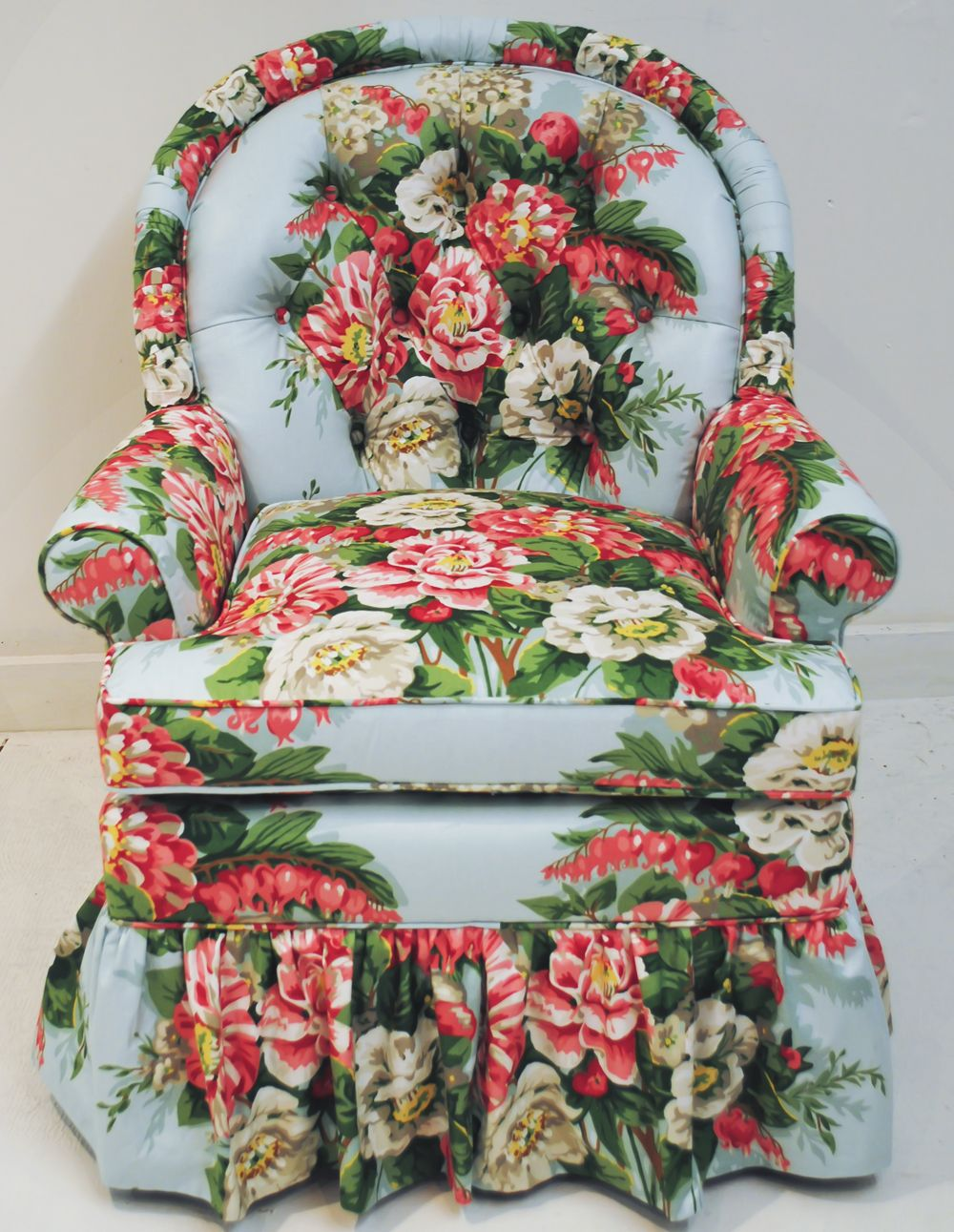 Chintz Sessel Tufted Chintz Chair Chintz Always Stylish