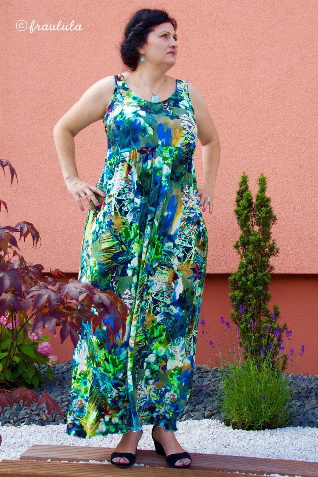 lillesol & pelle Schnittmuster/ pattern: Maxikleid / Maxi dress ...