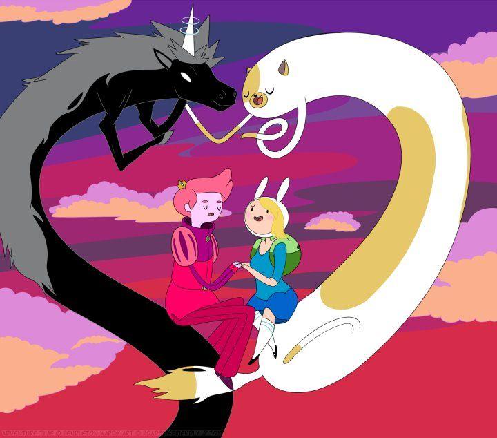 Lord Monochromicorn and Cake | adventure time | Adventure