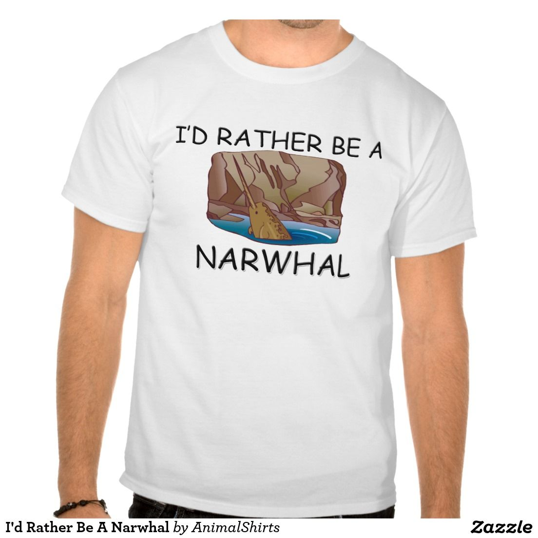 I'd Rather Be A Narwhal Shirt
