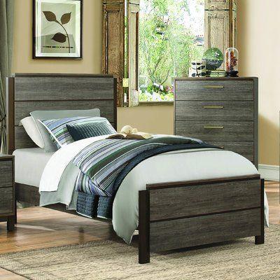 Best Laurel Foundry Modern Farmhouse Adam Standard Bed Panel 640 x 480