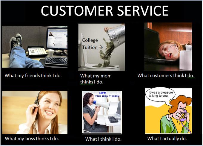 [Image 253323] Work humor, Customer service funny