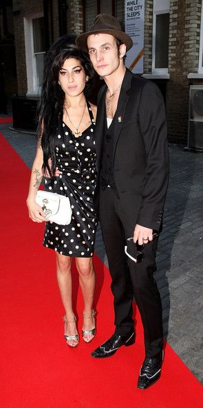 Blake Fielder Civil Photos Photos The Mojo Honours List Awards Ceremony Red Carpet Amy Winehouse Winehouse Amy