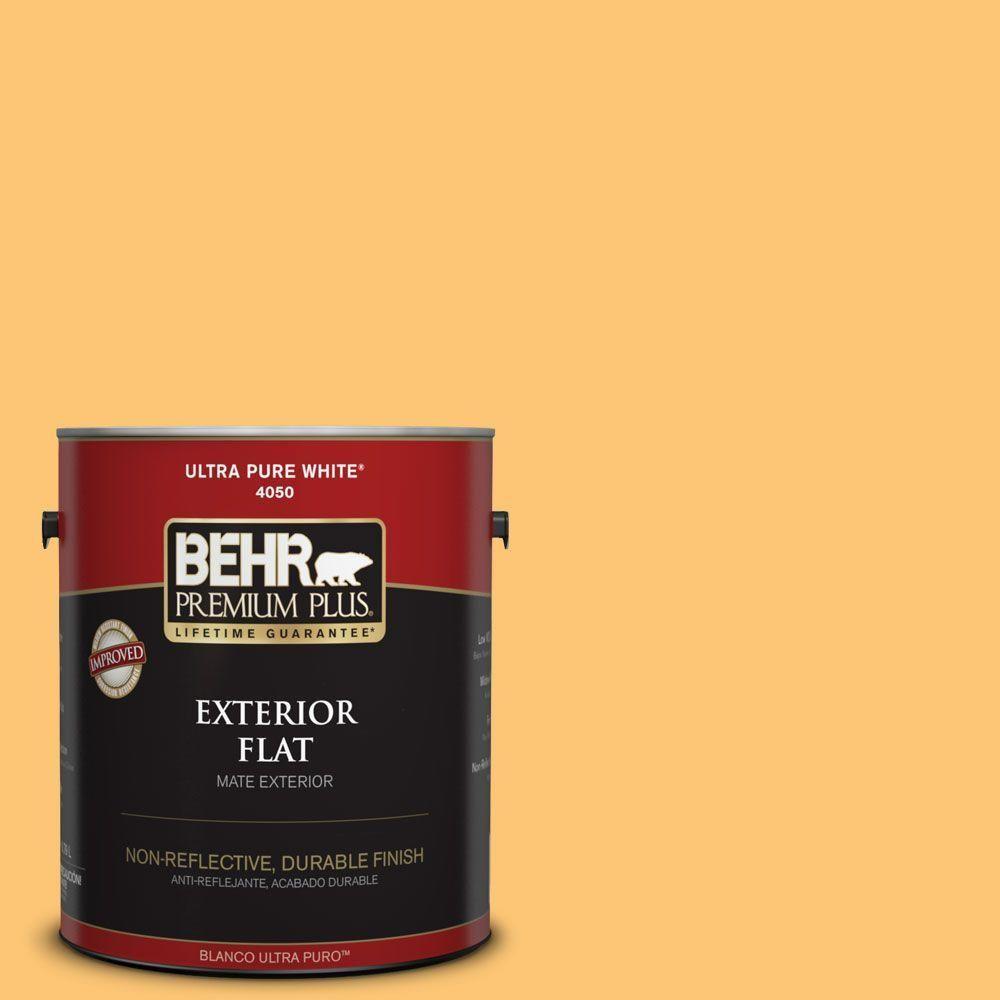BEHR Premium Plus 1-gal. #bic-42 Liquid Gold