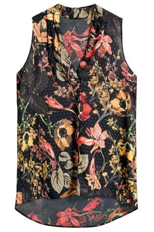 Buy Sleeveless Drape Top from the Next UK online shop