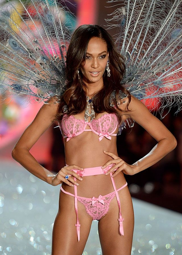 d23c51315 IMAGE BY  GETTY Victoria s Secret Models Joan Smalls in Victoria s Secret  GoT s Going to Drop