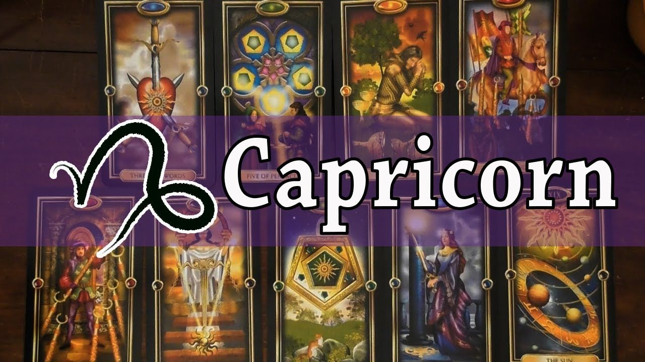 Capricorn november tarot reading big changes are coming