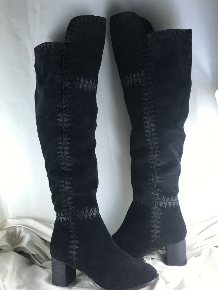 1d78e8ac6 Coconuts By Matisse Moon Over The Knee Black Suede Boot 9 M - Moon Boots  #MoonBoots - $66.49 End Date: Tuesday Mar-12-2019 8:00:52 PDT Buy It Now  for only: ...
