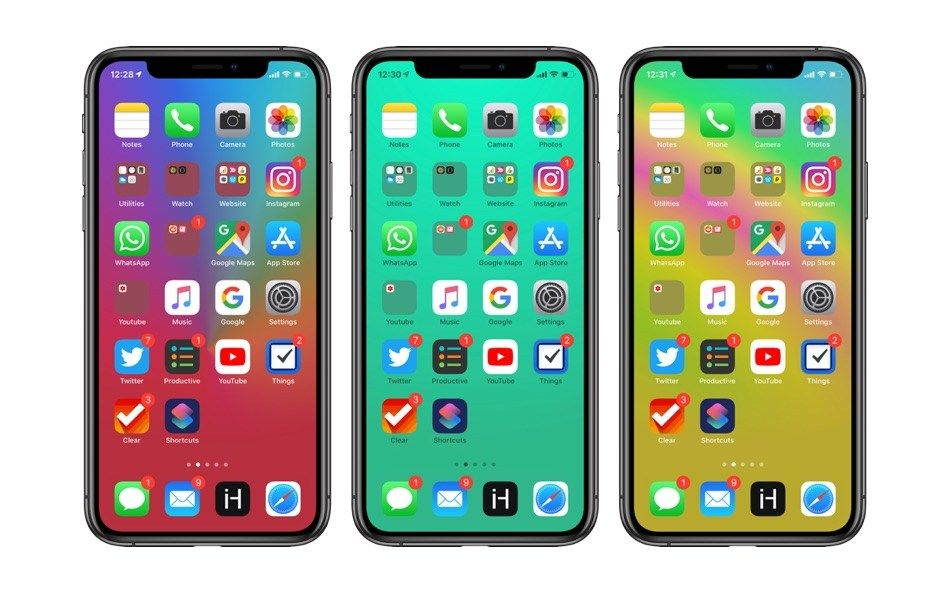 10 Wallpapers To Hide Dock On Iphone Xs Iphone Xs Max And