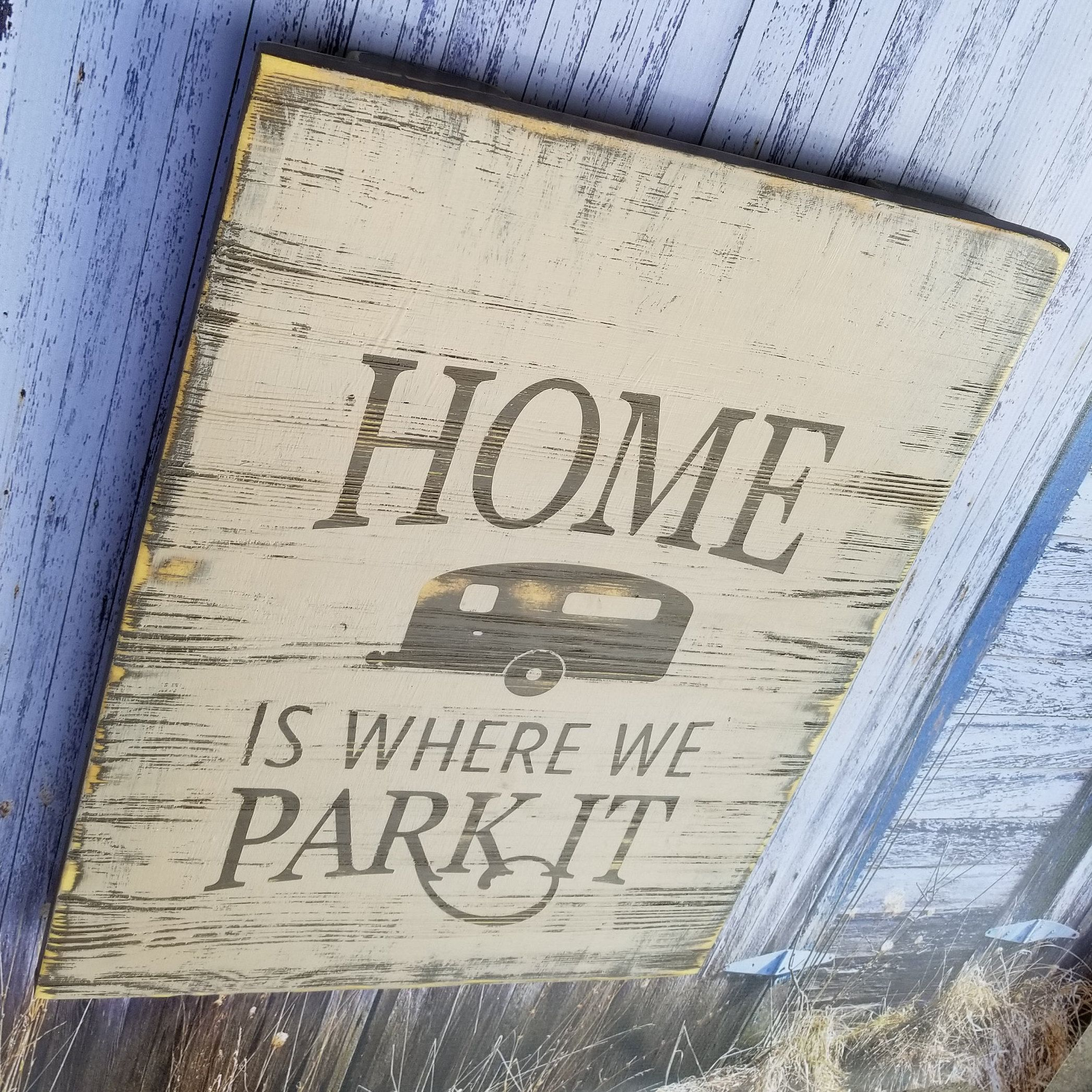 Wood Pallet Sign for Home, Pallet Signs, Wood Pallet Wall ...