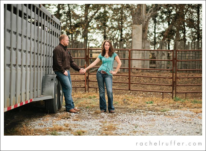 Horse Trailer Country Engagement Session Shayna Brandon Country Engagement Engagement Pictures Engagement Photos