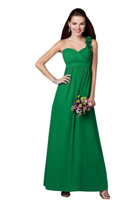 Social - Blue Bridesmaid Dress: Social | Chiffon bridesmaid dresses ...