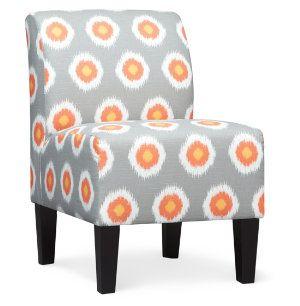 Best Elsie Armless Accent Chair In Chili Pepper Art Van 640 x 480