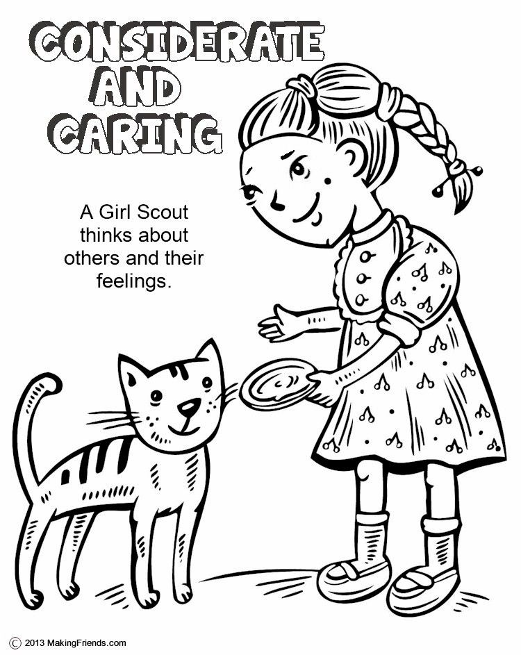 considerate and caring coloring page.html