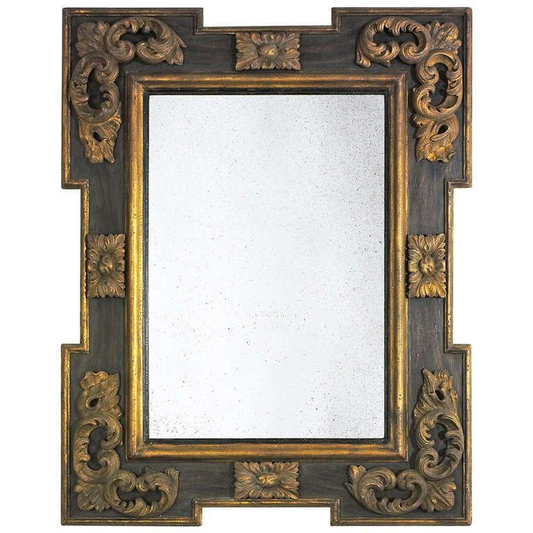 Italian Baroque Frame Mirror | From a unique collection of ...