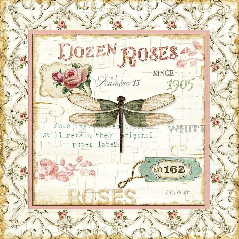 Rose Garden VI Art Print by Lisa Audit at Art.co.uk | Bathroom ...