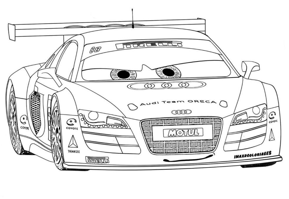 Cars 2 coloring pages free printable