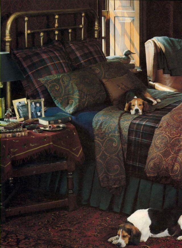 slaapkamerdecoratie plaid slaapkamer slaapkamerideen paisley slaapkamer
