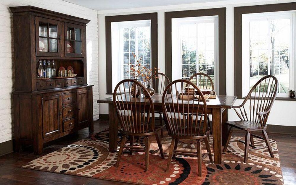 Broyhill Attic Heirlooms Rectangular Leg Table In Rustic Oak 5399 42 Heirloom Dining Table Broyhill Furniture Dining Table Legs
